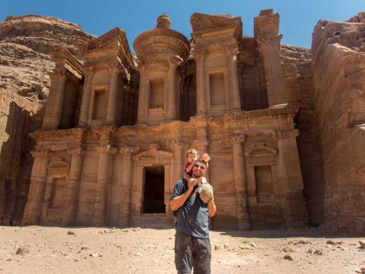 Kevin Wagar in Petra Jordan